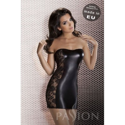 Minikleid Tubedress Wetlook L/XL ( 40/42 )