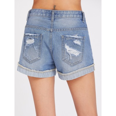 used look Denim shorts